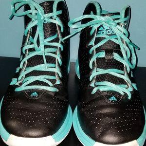 Adidas Cross 'Em 3 Black/Mint Size 8.5 Men